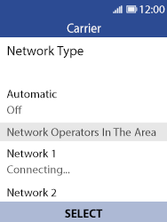 Nokia 8110 Banana - Network - Usage across the border - Step 10