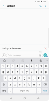 Samsung Galaxy Note9 - MMS - Sending pictures - Step 11