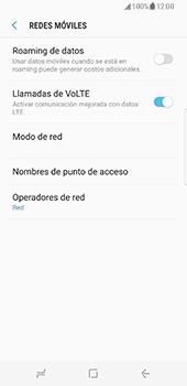 Samsung Galaxy S8 - Red - Seleccionar una red - Paso 6