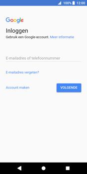 Sony Xperia XZ2 - Applicaties - Account instellen - Stap 4