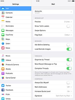 Apple iPad Pro 9.7 - iOS 10 - Email - Manual configuration - Step 15
