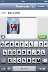 Apple iPhone 4 met iOS 6 - MMS - afbeeldingen verzenden - Stap 12