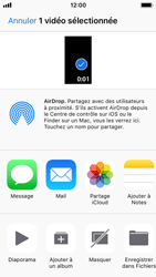 Apple iPhone 5s - iOS 11 - Photos, vidéos, musique - Créer une vidéo - Étape 12
