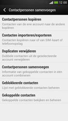 HTC Desire 601 - Contacten en data - Contacten kopiëren van SIM naar toestel - Stap 6