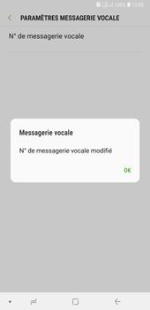 Samsung Galaxy A7 (2018) - Messagerie vocale - configuration manuelle - Étape 13