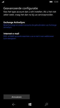 Microsoft Lumia 950 XL - E-mail - e-mail instellen: IMAP (aanbevolen) - Stap 8
