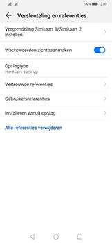 Huawei Mate 20 Pro - Beveiliging - pas de pincode voor je simkaart aan - Stap 6