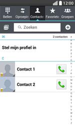 LG Optimus L70 (LG-D320n) - Contacten en data - Contacten kopiëren van SIM naar toestel - Stap 4