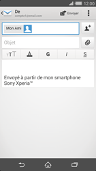 Sony Xperia Z2 - E-mails - Envoyer un e-mail - Étape 8