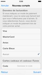 Apple iPhone 5s - Applications - Créer un compte - Étape 18