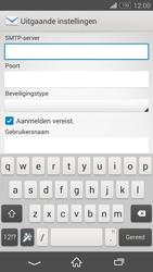 Sony D5803 Xperia Z3 Compact - E-mail - Account instellen (IMAP met SMTP-verificatie) - Stap 12