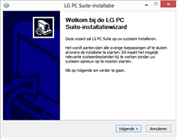 LG G3 4G (LG-D855) - Software - PC-software installeren - Stap 3