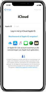 Apple iPhone X - Instellingen aanpassen - Activeer het toestel en herstel jouw iCloud-data - Stap 16
