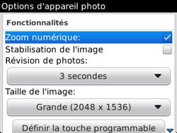 BlackBerry 9320 - Photos, vidéos, musique - Prendre une photo - Étape 8