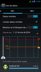 BQ Aquaris 5 HD - Internet - Ver uso de datos - Paso 12