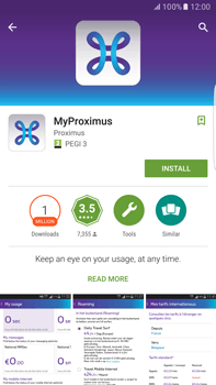 Samsung Galaxy S6 edge+ - Android M - Applications - MyProximus - Step 7