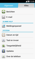 Huawei Ascend Y330 - Software update - update installeren zonder PC - Stap 4