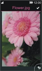 Nokia Asha 311 - Mensajería - Escribir y enviar un mensaje multimedia - Paso 14