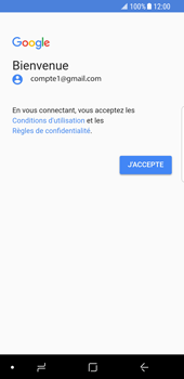 Samsung Galaxy S8 - Android Oreo - E-mail - Configuration manuelle (gmail) - Étape 10