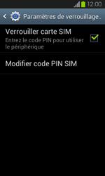 Samsung Galaxy S2 - Sécuriser votre mobile - Personnaliser le code PIN de votre carte SIM - Étape 6