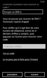 Nokia Lumia 630 - Applications - Créer un compte - Étape 23