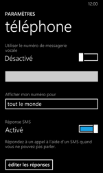 Nokia Lumia 630 - Messagerie vocale - Configuration manuelle - Étape 8