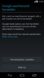 Google Nexus 5 - Applicaties - Account aanmaken - Stap 12