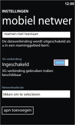 Nokia Lumia 710 - Bellen - in het buitenland - Stap 8