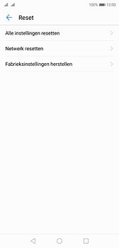 Huawei P20 - Toestel - Fabrieksinstellingen terugzetten - Stap 6