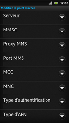Sony ST25i Xperia U - MMS - Configuration manuelle - Étape 11