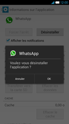 Bouygues Telecom Ultym 4 - Applications - Supprimer une application - Étape 7