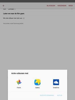 Samsung Galaxy Tab S2 9.7 (T815) - E-mail - E-mail versturen - Stap 13