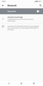 Sony Xperia XZ3 - Bluetooth - connexion Bluetooth - Étape 9