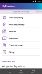 Huawei Ascend P7 - Applications - MyProximus - Step 23