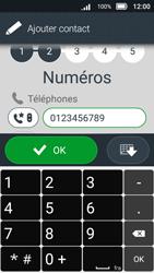 Doro 8031 - Contact, Appels, SMS/MMS - Ajouter un contact - Étape 10