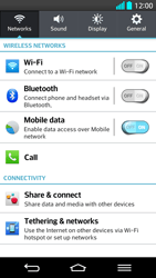 LG G2 - Internet - Enable or disable - Step 4