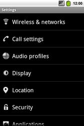 Alcatel OT-991 Smart - Voicemail - Manual configuration - Step 4