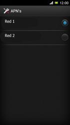 Sony Xperia J - Mensajería - Configurar el equipo para mensajes multimedia - Paso 17