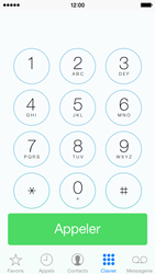 Apple iPhone 5c - Contact, Appels, SMS/MMS - Utiliser la visio - Étape 3
