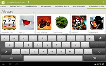 Sony SGP321 Xperia Tablet Z LTE - Applicaties - Downloaden - Stap 14