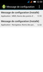 Alcatel OT-4033X Pop C3 - Paramètres - reçus par SMS - Étape 11