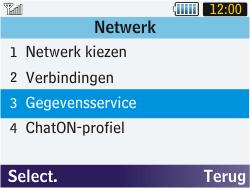Samsung S3570 Chat 357 - Internet - aan- of uitzetten - Stap 5
