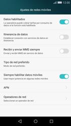Huawei P8 Lite - Red - Seleccionar una red - Paso 5