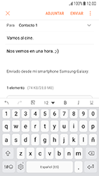 Samsung Galaxy J5 (2017) - E-mail - Escribir y enviar un correo electrónico - Paso 17