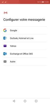 Huawei P20 - E-mail - Configuration manuelle (gmail) - Étape 7