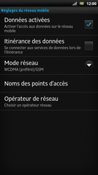 Sony LT22i Xperia P - Internet - activer ou désactiver - Étape 6