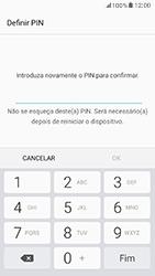 Samsung Galaxy A5 (2017) - Segurança - Como ativar o código de bloqueio do ecrã -  9