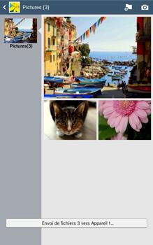 Samsung Galaxy Tab 3 8 4G - Photos, vidéos, musique - Envoyer une photo via Bluetooth - Étape 13