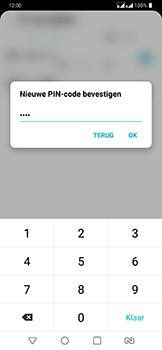 LG g7-fit-dual-sim-lm-q850emw - Beveiliging en ouderlijk toezicht - Hoe wijzig ik mijn SIM PIN-code - Stap 13