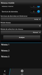 BlackBerry Z30 - Réseau - Utilisation à l